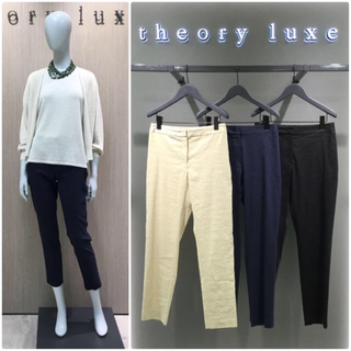 Theory luxe - 新品 theory luxe  18SS CRUNCH クロップドパンツ 黒36