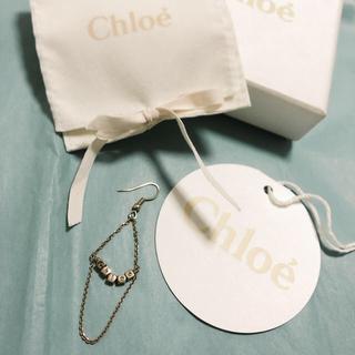 クロエ(Chloe)の【美品】 クロエ chloe  ピアス ゴールド(ピアス)