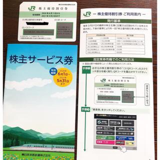 ジェイアール(JR)のJR東日本株主優待券(鉄道乗車券)