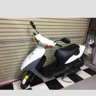 スズキ - 埼玉県深谷市 スズキ レッツⅡ レッツ2 原付 スクーター 50cc バイク 白