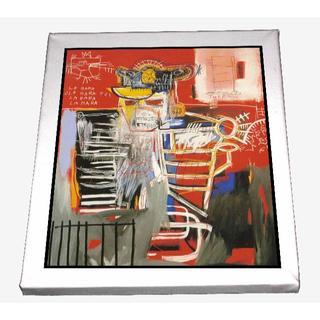 65-ジャン=ミシェル・バスキア Basquiat キャンバスアート 模写(ボードキャンバス)