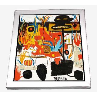 66-ジャン=ミシェル・バスキア Basquiat キャンバスアート 模写(ボードキャンバス)