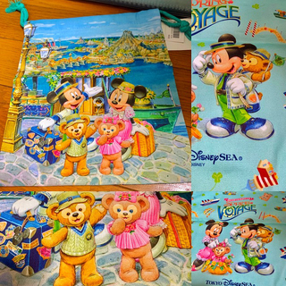 Disney - TDS⭐️スプリングヴォヤッジ❤️巾着袋❣️ディズニー⭐️