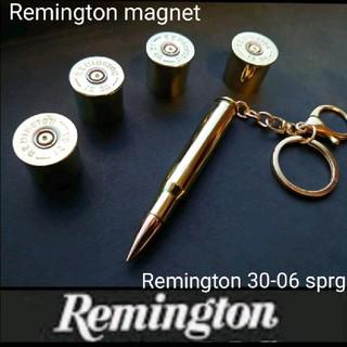 Remington 30-06sprg キーホルダー &ショットシェルマグネット(ガスガン)