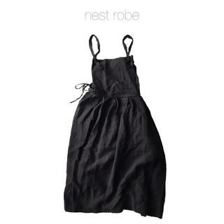 nest Robe - ネストローブ エプロンワンピース