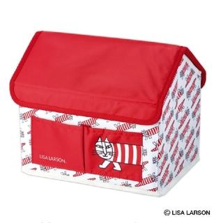 Lisa Larson - リンネル5月号♥リサ・ラーソン♥マイキーのハウス形収納ボックス