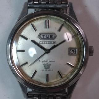 CITIZEN - シチズン・クリスタルセブン腕時計