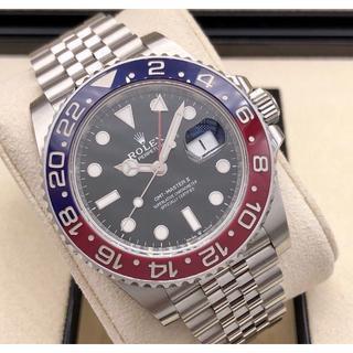 インターナショナルウォッチカンパニー(IWC)の青赤ベゼル 腕時計GMTマスター T番 SS (腕時計(アナログ))