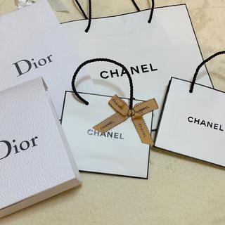 シャネル(CHANEL)のCHANEL ショップバック DIOR ジョップバッグ 箱 リボン付き(ショップ袋)