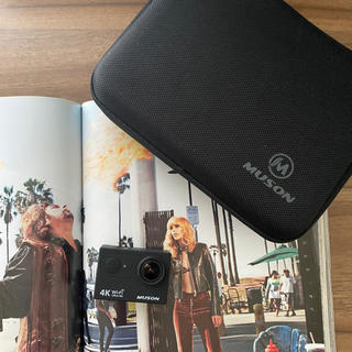 ゴープロ(GoPro)のMUSON ムソン アクションカメラ 4k(コンパクトデジタルカメラ)