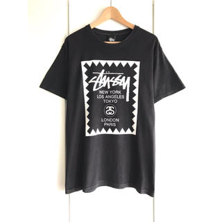 STUSSY - 【希少】ステューシー/STUSSY『WT』ワールドツアーTシャツ/バックプリント