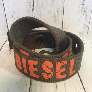 ディーゼル(DIESEL)のDIESEL ディーゼル  ベルト  カーキ x オレンジ(ベルト)