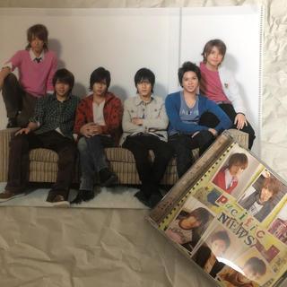 ニュース(NEWS)のpacific アルバム クリアファイル(アイドルグッズ)