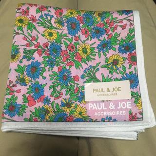 PAUL & JOE - PAUL&JOE花柄ハンカチ 新品未使用