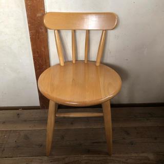 カリモクカグ(カリモク家具)の◉MIKIMOKU 可愛い チェアー 椅子(ダイニングチェア)