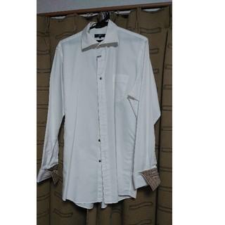 バーバリーブラックレーベル(BURBERRY BLACK LABEL)のBURBERRY 白シャツ(シャツ)