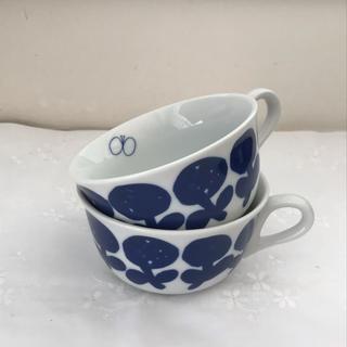 mina perhonen - ミナペルホネン × PASS THE BATON モーニングカップ ペア