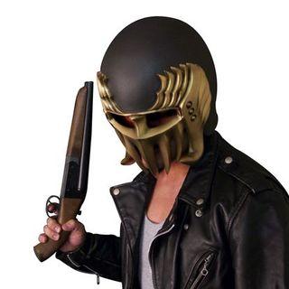 兄より優れた弟なぞ!北斗の拳 ジャギ・ヘルメット 極上塗装&水平二連ソードオフ(ガスガン)