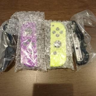 ニンテンドースイッチ(Nintendo Switch)の新品 任天堂 switch ジョイコン ネオンパープル ネオンイエロー(家庭用ゲーム機本体)
