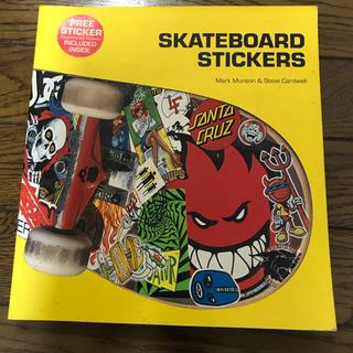 スラッシャー(THRASHER)のスケボーステッカーの本 SKATEBOARD STICKERS(スケートボード)