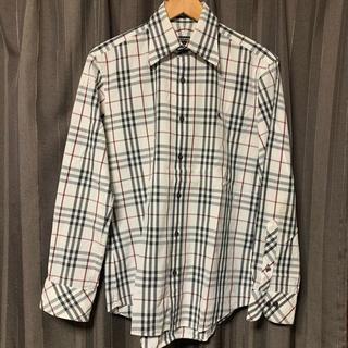 バーバリーブラックレーベル(BURBERRY BLACK LABEL)のBURBERRY BLACK LABEL ノバチェック 長袖シャツ サイズ2(シャツ)