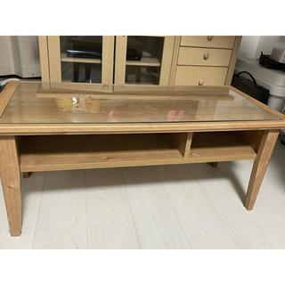ムジルシリョウヒン(MUJI (無印良品))のヴィンテージ風 ローテーブル(ローテーブル)