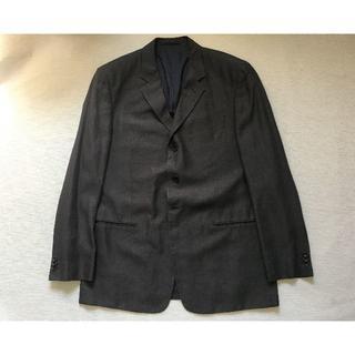 アルマーニ コレツィオーニ(ARMANI COLLEZIONI)のJ736★アルマーニARMANIリネン麻 高級ジャケット52(XL相当)カーキ(テーラードジャケット)