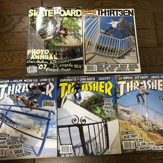 スラッシャー(THRASHER)のTHRASHER MAGAZINE 06年のスラッシャーマガジン(スケートボード)