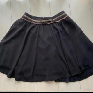エルディープライム(LD prime)のLDプライム 黒 スカート(ひざ丈スカート)