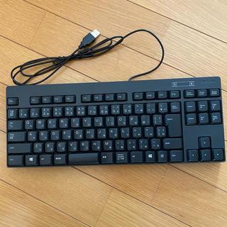 エレコム(ELECOM)のELECOMキーボード USBタイプ(PC周辺機器)