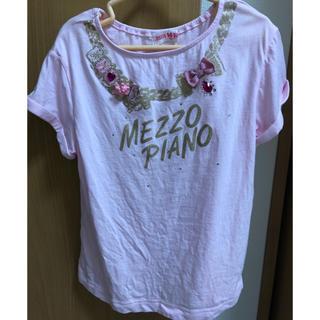 メゾピアノ(mezzo piano)のメゾピアノTシャツ130(Tシャツ/カットソー)