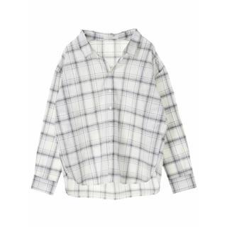 グリーンパークス(green parks)のベーシックチェックシャツ(シャツ/ブラウス(長袖/七分))
