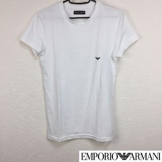 エンポリオアルマーニ(Emporio Armani)の美品 エンポリオアルマーニ 半袖Tシャツ ホワイト サイズS(Tシャツ/カットソー(半袖/袖なし))