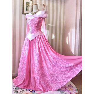 ディズニー(Disney)の♡眠れる森の美女♡オーロラ♡グリーティングドレス風衣装❁新品(ロングドレス)