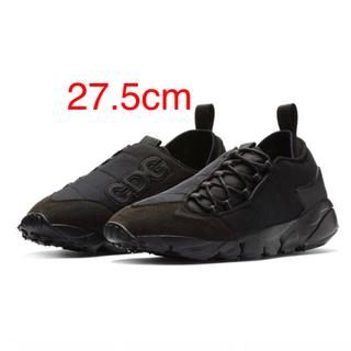ブラックコムデギャルソン(BLACK COMME des GARCONS)の56 AIR FOOTSCAPE CDG 27.5cm(スニーカー)