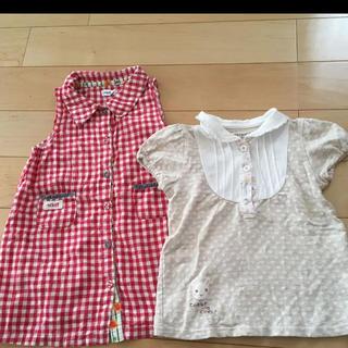 キムラタン(キムラタン)のTシャツ2枚(Tシャツ/カットソー)