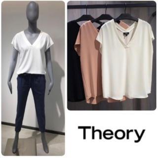 theory - 定価21600円 新品 タグ付き セオリー ウォッシャブル ブラウス S