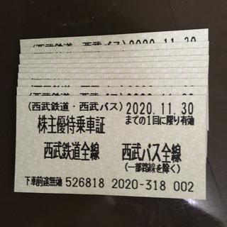 西武線乗車券(鉄道乗車券)