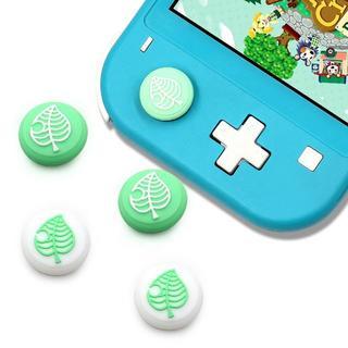 ニンテンドースイッチ(Nintendo Switch)の任天堂 Switch / Lite どうぶつの森 コントローラー キャップ 4個(その他)