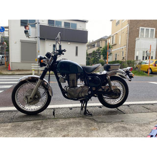 カワサキ - カワサキ エストレヤ 250  紺色 整備済み全国配送可能 分離型、一体型交換可