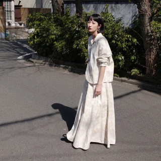 BEAUTY&YOUTH UNITED ARROWS - CLANE 限定 FLOWER JACQUARD SET UP