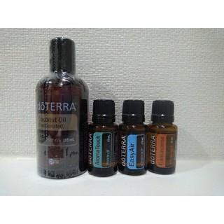 【おまとめ価格】ドテラ アロマタッチ&ココナッツオイル 2本セット(エッセンシャルオイル(精油))