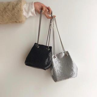 BEAUTY&YOUTH UNITED ARROWS - 即納_ Chenille glitter bag
