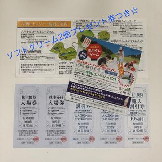 利用券(スノーパーク・カンツリーハウス等入場券 、六甲ケーブル割引ほか(スキー場)
