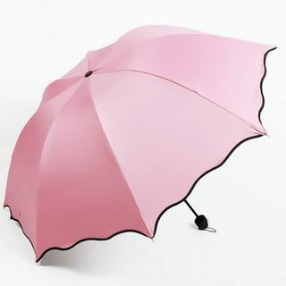 折りたたみ傘 日傘 携帯用 雨傘 折り畳み傘 UVカット 軽量 携帯傘 ピンク