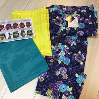 アナスイミニ(ANNA SUI mini)の定価以下❤️新品*アナスイミニ  浴衣 セット(甚平/浴衣)