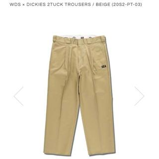 L 20SS WIND AND SEA DICKIES 2TUCK TROUSE