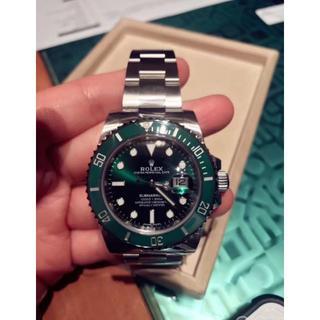 潜航者型シリーズ116610 lv-97200緑盤