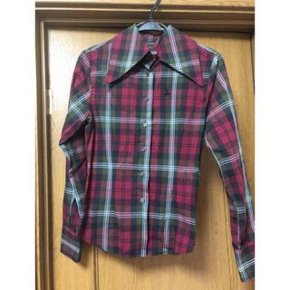 ヴィヴィアンウエストウッド(Vivienne Westwood)のチェックシャツ(シャツ/ブラウス(長袖/七分))