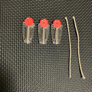 ジッポー(ZIPPO)のZippo フリント 3個セット 替芯2本付き(タバコグッズ)